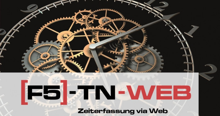 Software Zeitarbeits Modul F5 TN-Web