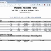 F5 Onsite - Management Online Bericht Auswertung Kunde Zeitarbeit Software Zeitarbeitssoftware